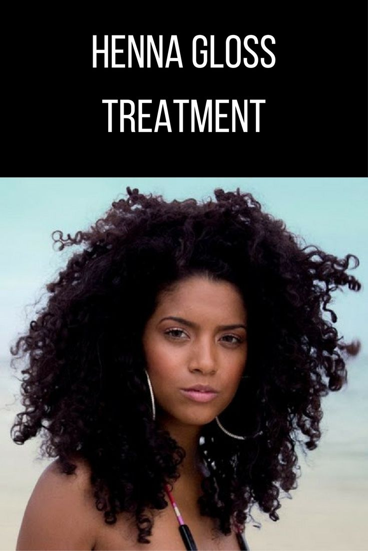 Have you heard of the henna gloss treatment for natural hair? For all, you lovers of experimenting with the color you're in for a real treat!