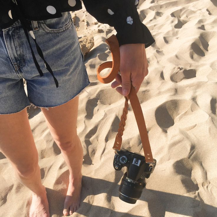 Take your camera strap to the beach 🏖