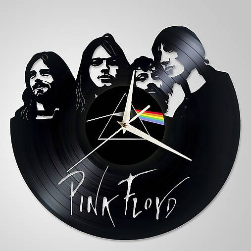 anynOOn / PINK FLOYD - vinylové hodiny z LP