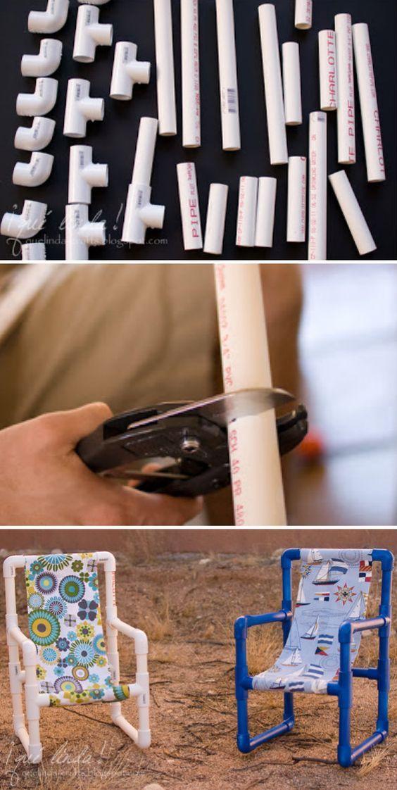 Artesanatos com Cano PVC