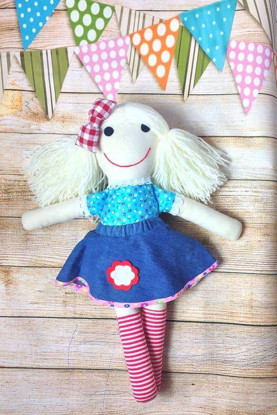 Soft Doll Fabric Doll Cloth Doll First Doll by matildasworld15