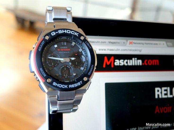 On a testé la #montre G-Shock G-Steel de Casio