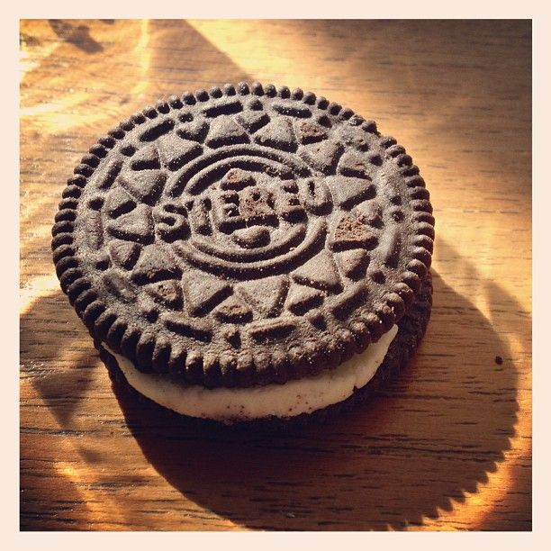 Jakarta, Indonesia-- a knockoff Oreo cookie #stereo
