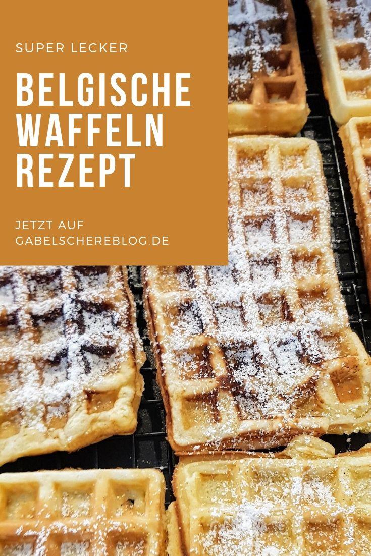 Rezept für belgische Waffeln