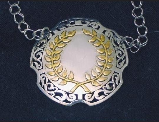 Laurel Medallion by Thorkell Sigurdson, Calontir