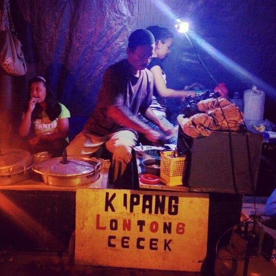 Lontong Kupang dan Cecek khas kota Bangil