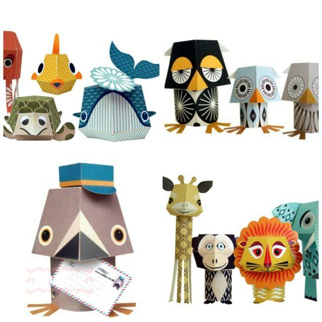 Mibo - Manualidades infantiles - Petit-on - Craft infantil