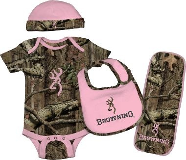 Cabela's: Browning® Baby Infants' Four-Piece Camo Set - Loooove <3