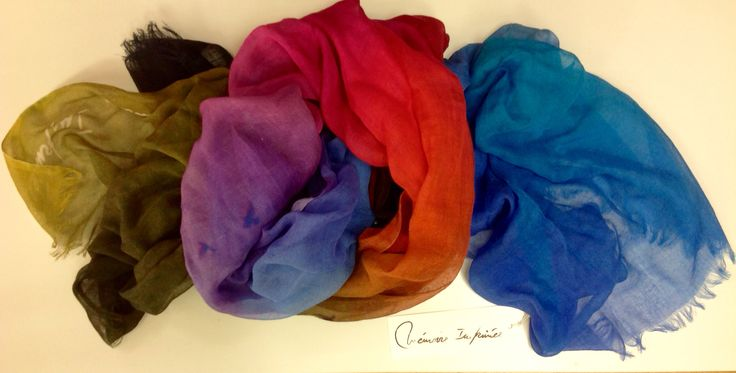 A Mémoire Imprimée Spring Summer Scarf in cotton and modal with a lot of colors -www.lanamoda.it