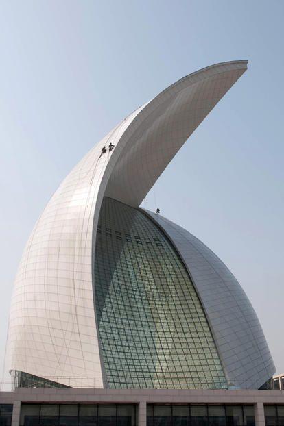 2009 China, Lingang New City Maritime Museum - gmp Architekten von Gerkan, Marg und Partner gmp-architekten.com