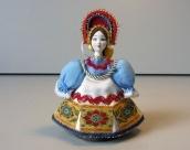 Doll of porcelain