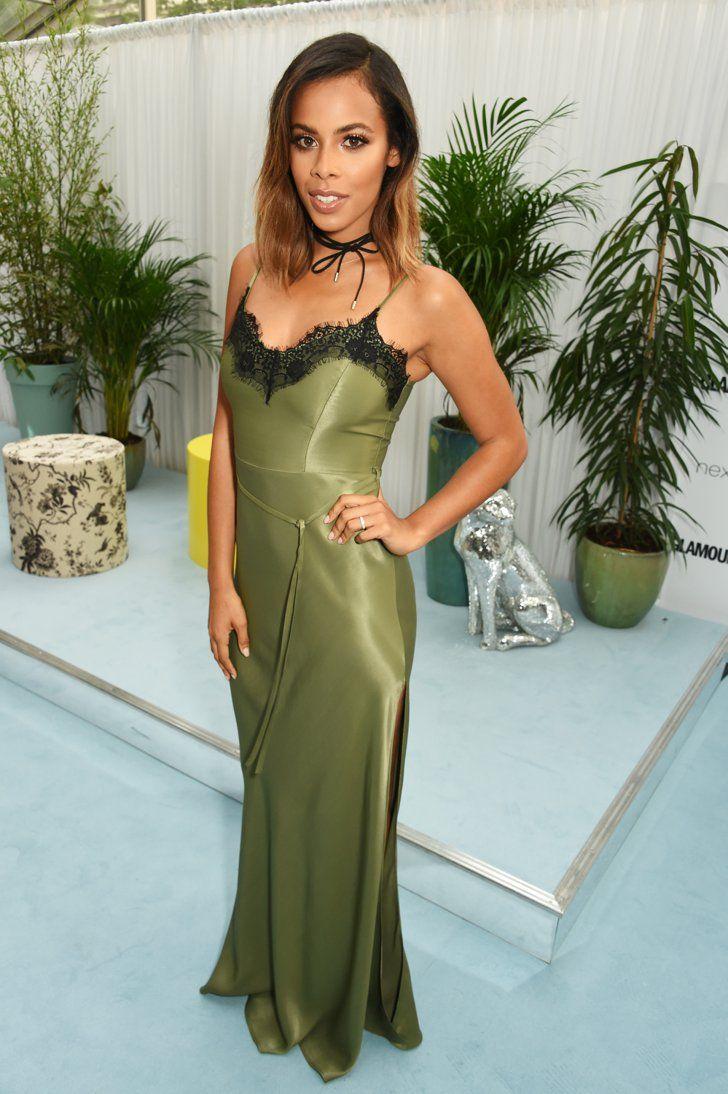 Pin for Later: Hollywood Se Mélange aux Stars Britanniques Lors des Glamour Women of the Year Awards Rochelle Humes