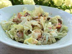 Hollandse noten/rauwkost salade. Past prima in een Paleo of koolhydraatarm dieet.