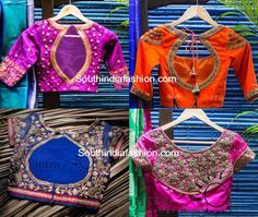 """Bridal Saree Blouses and Lehengas by """"Mantra -The Design Studio"""""""