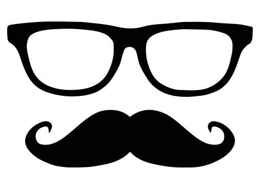 Glasses & Moustache # Van Ikke
