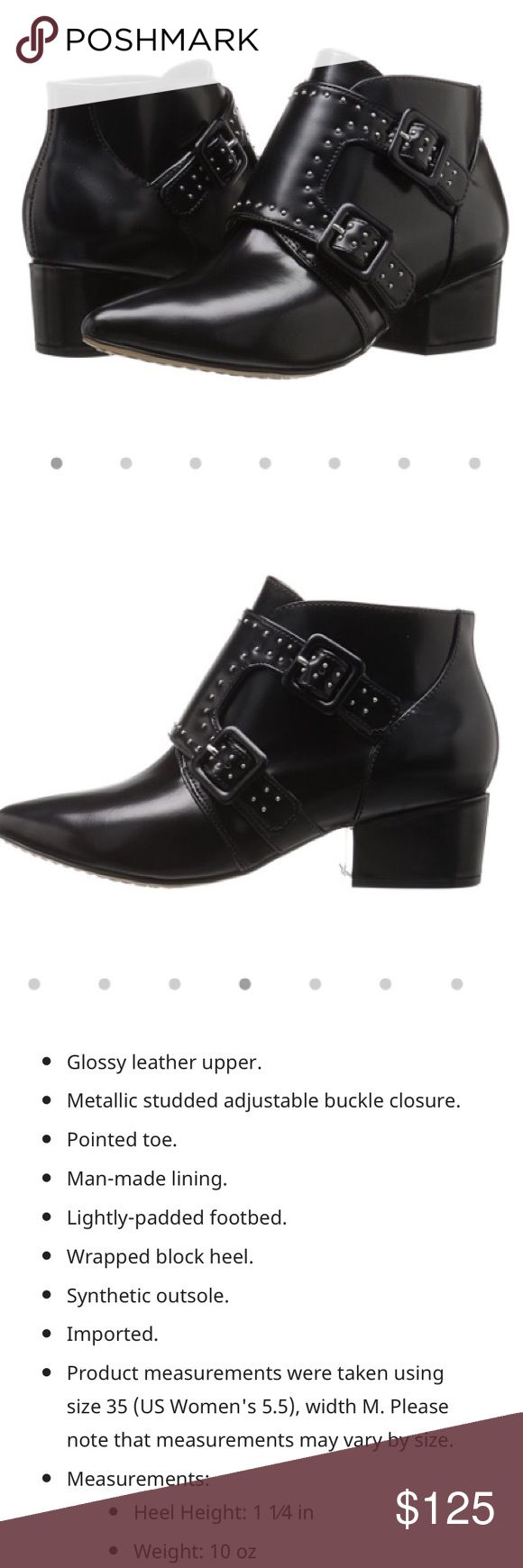 French connection bootie! Brand new with tags! French Connection bootie with studded detail! These are super stylish, I wish they would of fit me! Never worn! French Connection Shoes Ankle Boots & Booties