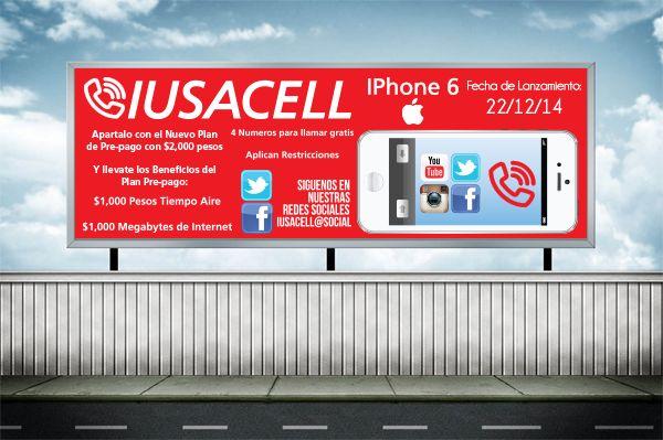 Iusacell Banner Publicitario by RobertoJOEL1307