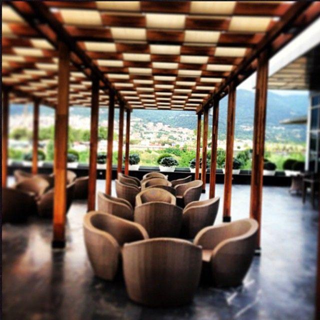 Bu güzel havada Narr Restaurant'ın terasının keyfini çıkarmaya ne dersiniz?   How about to enjoy the Narr Restaurant's terrace in this beautiful weather?  Photo credit to @gunelemre   #sheratonbursa #narr #restaurant #betterwhenshared