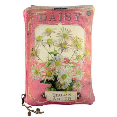 """In Bloom """"Daisy"""" Seed meikkilaukku / iso kukkaro"""