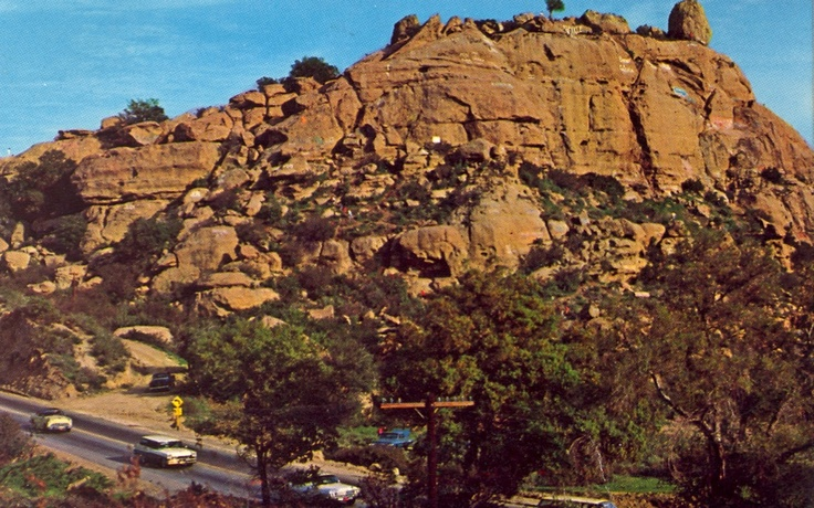 The Museum of the San Fernando Valley Stoney Point in Chatsworth at the bottom of Santa Susana Pass. Within bicycle distance of my home in the 50s & 60s