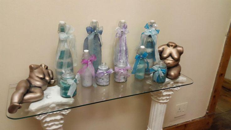 Engela's Fragrant Bath Salts. Lavender / Blue Jasmine / Rooibos bath salts