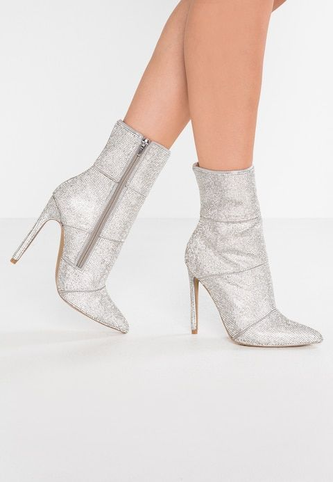 626f8b1cd32 WINONA - High heeled ankle boots - silver @ Zalando.co.uk 🛒 in 2019 ...
