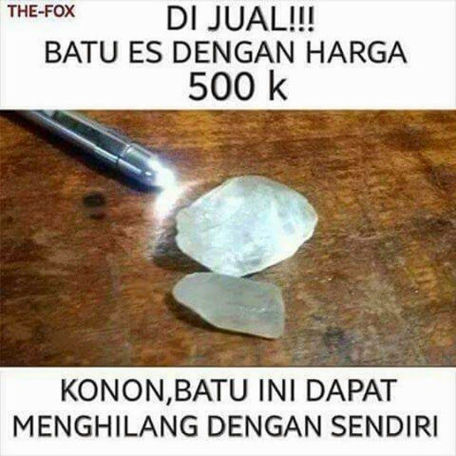 Jual batu ajaib 500K - #GambarLucu - http://www.galucu.com/pin/jual-batu-ajaib-500k/