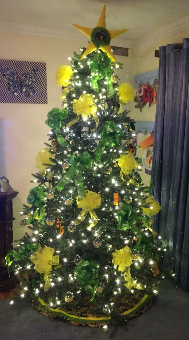 John Deere Christmas tree | John deere | Christmas tree ...