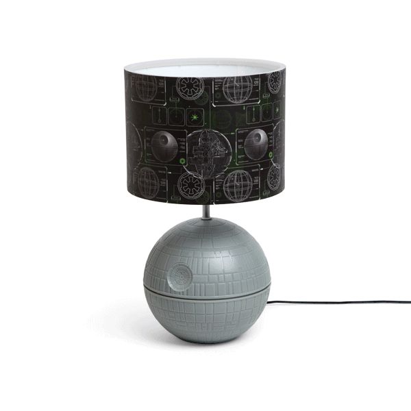 """Death Star Desk Lamp Hides Battle Station Schematics In Plain Sight, Makes Fools Of Dead Bothans  #decor #starwars We would hope you wouldn't feel compelled to exclaim, """"That thing's operational!"""" upon plugging in this Death Star Desk Lamp. Of course, it's operatio..."""