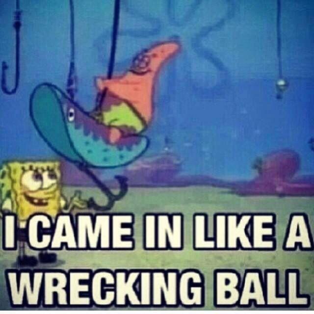 Hehe! Gotta love Patrick!