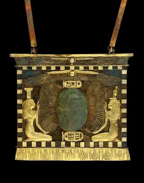 egypt-museum: Pectoral of Shoshenq II This…