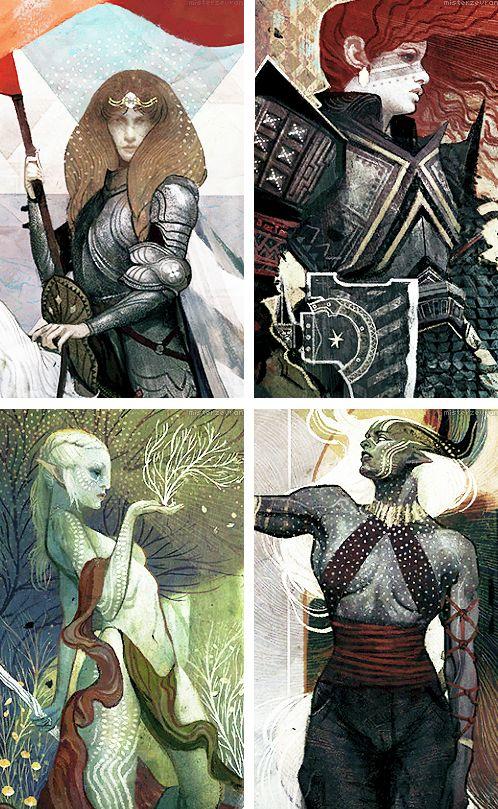 Dragon Age: Inquisition — races