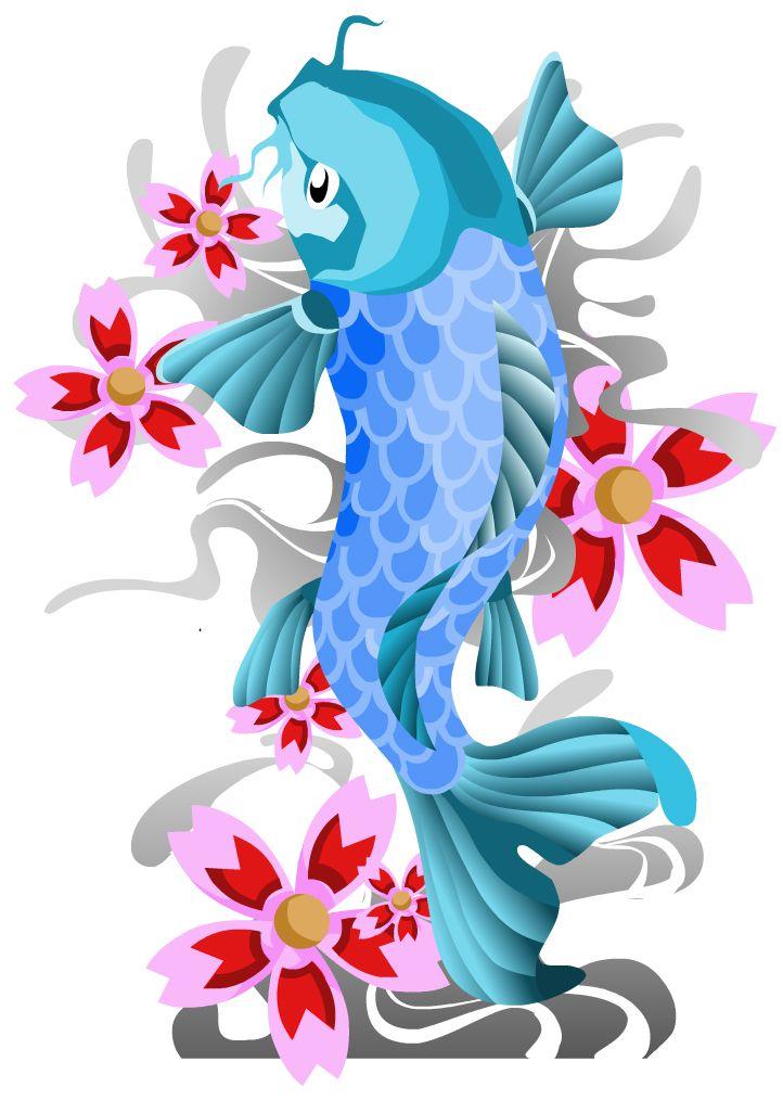 того, цветы картинки с рыбками запросу платье