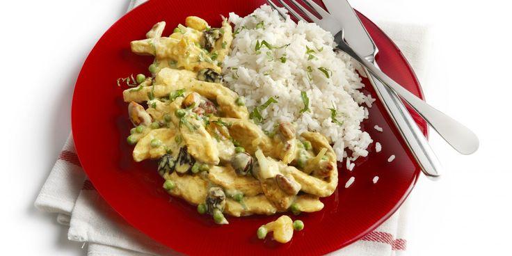 Boodschappen - Schnitzels met studentenhaver en rijst