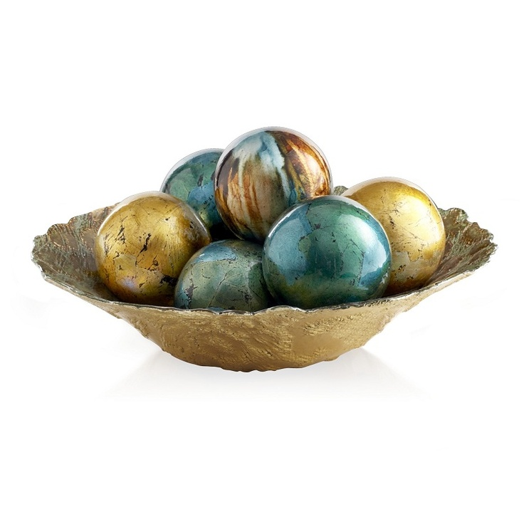 Pier 1 Decorative Spheres - Just the right colors for my new living room!