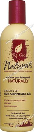 Empress Re Gro Naturals Anti Shrinkage Gel 10oz  PK-RG17188