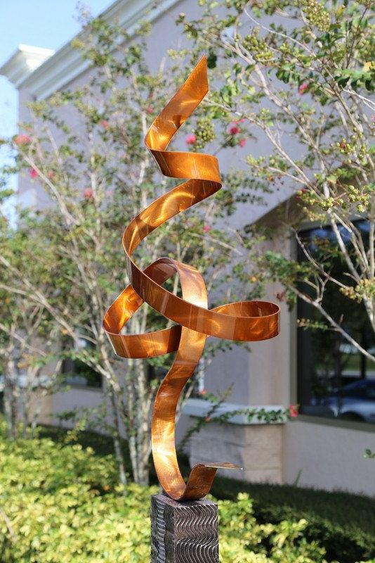 outdoor landscape sculpture copper perfect by statements2000 32500 - Open Garden Decor
