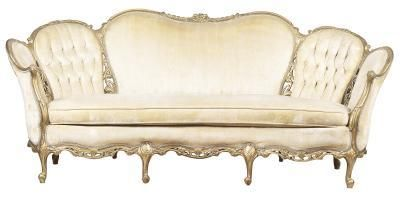 How to Decorate Around a French Provincial Sofa | Home Guides | SF ...