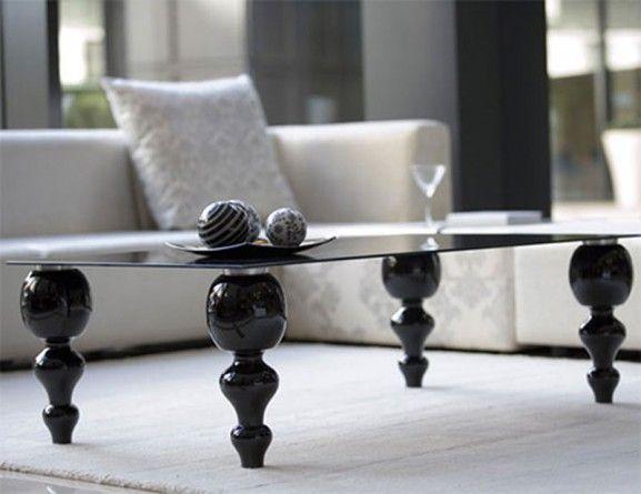 Die besten 25+ Black glass coffee table Ideen auf Pinterest - couchtisch aus glas ideen interieur