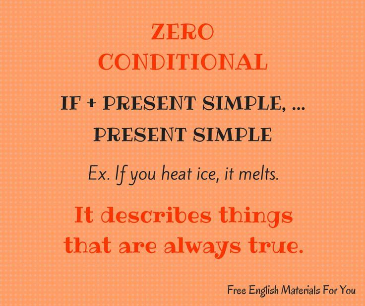 #zeroconditional - #English #Grammar - #FreeEnglishMaterialsForYou #conditionals #learning English
