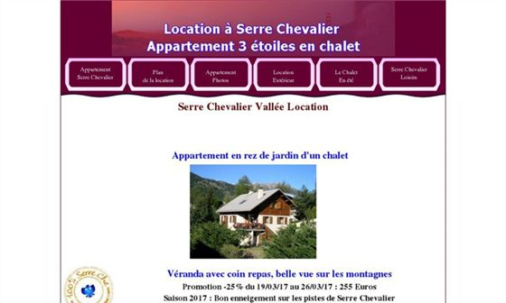 Location Serre Chevalier - Location appartement en chalet     - Saint-Chaffrey, Hautes-Alpes, Provence-Alpes-Côte d'Azur