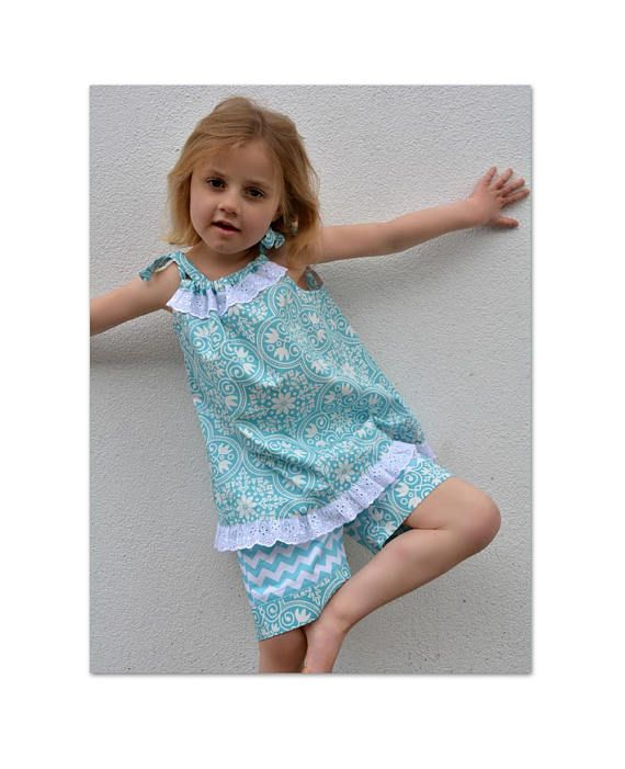 Girls dress and romper sewing pattern Peachy Dress & Playsuit ADVANCED BEGINNER The perfect Summer pattern for toddlers to teens! More than 6 styles in one pattern. To see a review on this pattern cut and paste this URL ---