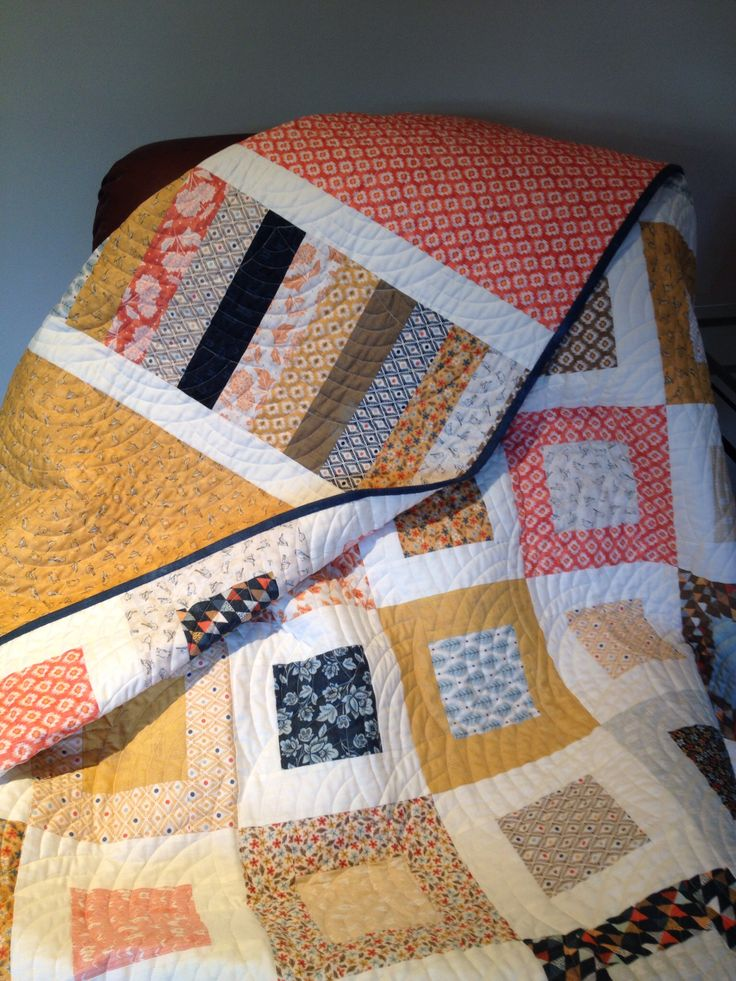 Another Quilt In My Favourite Pattern Made From Moda