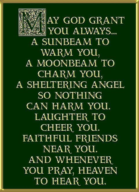Irish sayings -