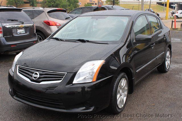 2011 Used Nissan Sentra 4dr Sedan I4 CVT 2.0 S at Best Choice Motors Serving Tulsa, OK, IID 14040690