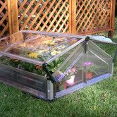 Found it at Wayfair - Double 3.5 Ft. W x 3.5 Ft. D Cold Frame Greenhouse