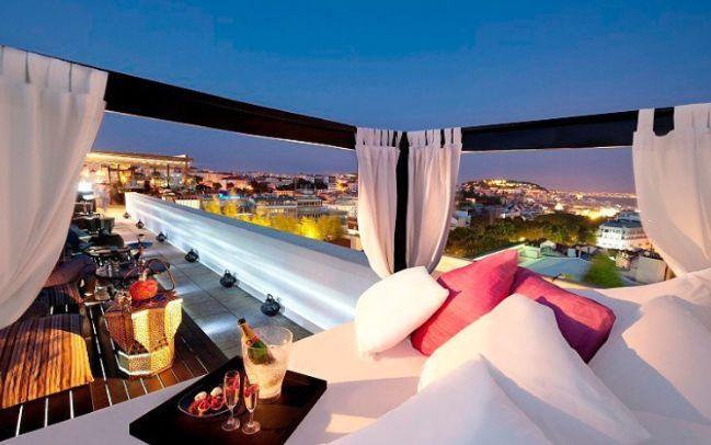 Sky Bar at Tivoli Hotel, Lisbon - Portugal