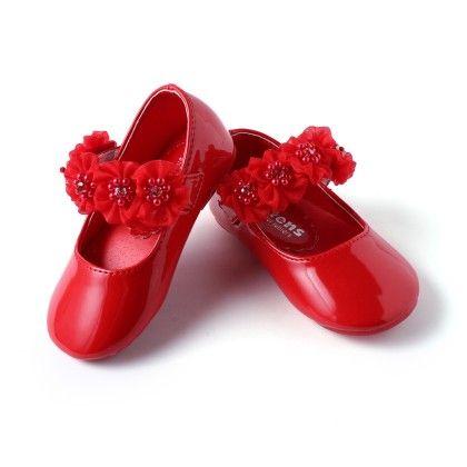 Girls Belly-Red