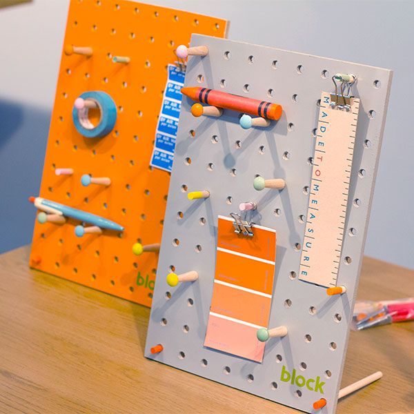 Pegboard pin boards by Block at Home London #LDF14