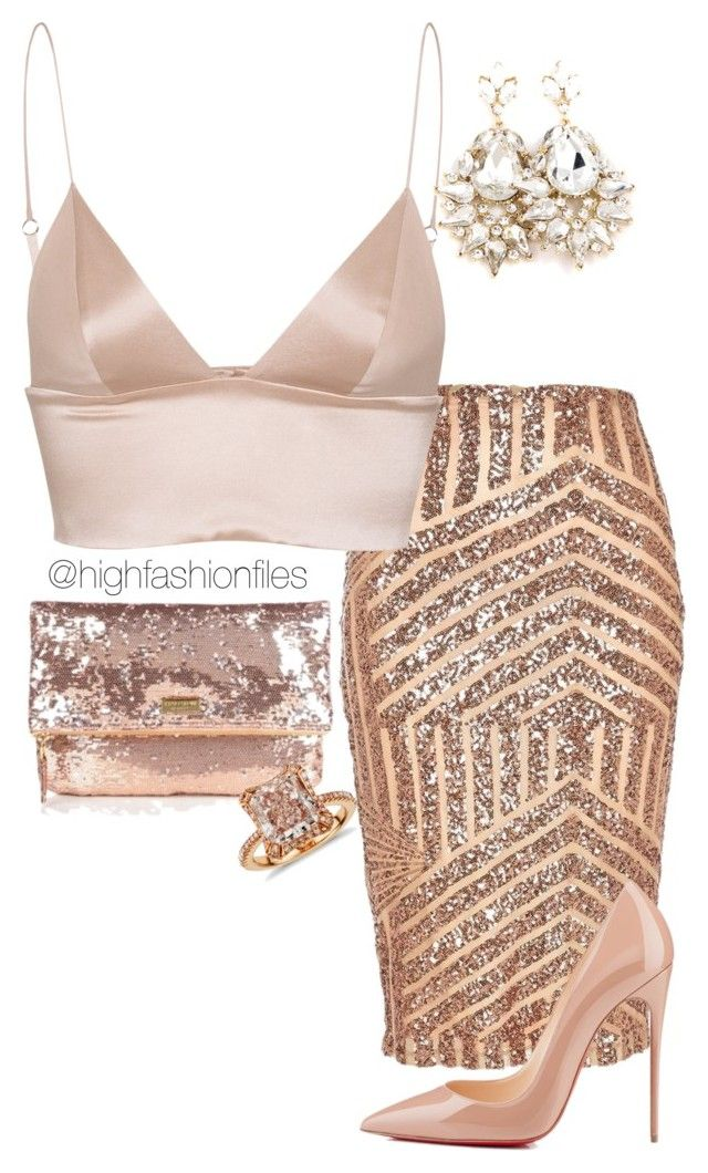 """It's Ya Birthday"" by highfashionfiles ❤ liked on Polyvore"